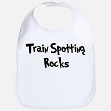 Train Spotting Rocks Bib