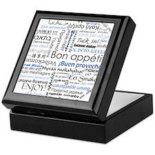 International Cuisine Lover - Keepsake Box