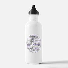 World Foods Dining Etiquette Water Bottle