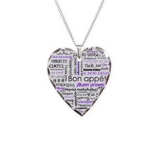 World Foods Dining Etiquette Necklace