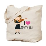 Violin Canvas Bags