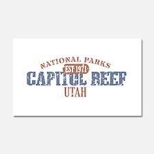 Capitol Reef National Park UT Car Magnet 20 x 12