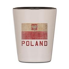 Vintage Poland Shot Glass