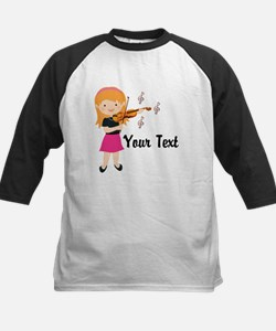 Personalized Violin Girl Tee