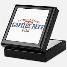 Capitol Reef National Park UT Keepsake Box