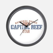 Capitol Reef National Park UT Wall Clock