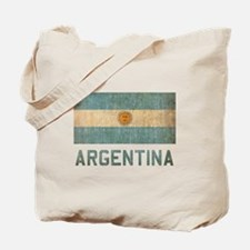 Vintage Argentina Tote Bag