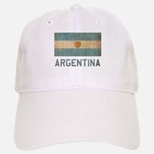 Vintage Argentina Baseball Baseball Cap