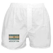 Vintage Argentina Boxer Shorts