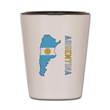 Map Of Argentina Shot Glass