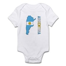 Map Of Argentina Infant Bodysuit