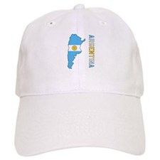 Map Of Argentina Baseball Cap