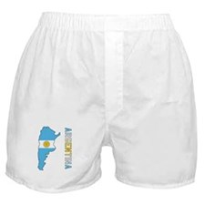 Map Of Argentina Boxer Shorts