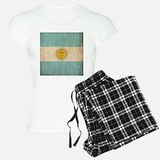 Vintage Argentina Flag Pajamas