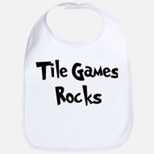 Tile Games Rocks Bib