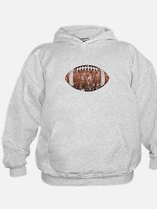 Football - Distressed Hoodie