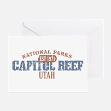 Capitol Reef National Park UT Greeting Card