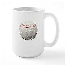 Baseball - Distressed Mug