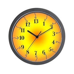 Thirteen Hour Burning Clock
