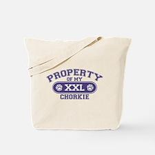 Chorkie PROPERTY Tote Bag