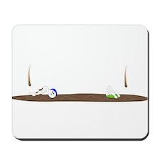 Drip guy swimming Mousepad
