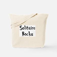 Solitaire Rocks Tote Bag