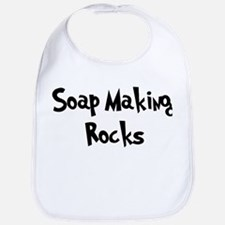 Soap Making Rocks Bib