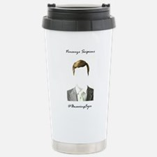 UnseeingEyes Stainless Steel Travel Mug