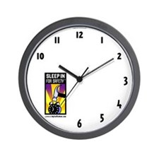 Sleep In For Safety(tm) Meeting Clock