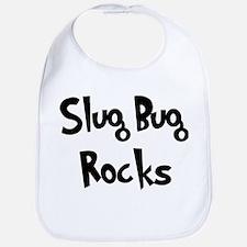 Slug Bug Rocks Bib