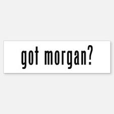 GOT MORGAN Sticker (Bumper)