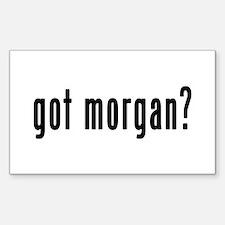 GOT MORGAN Decal