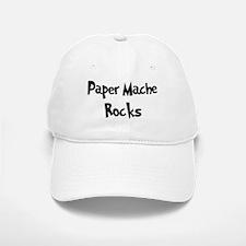 Paper Mache Rocks Baseball Baseball Cap