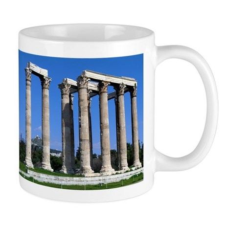 Temple of Olympian Zeus Mug