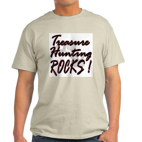 Treasure Hunting Rocks ! Ash Grey T-Shirt