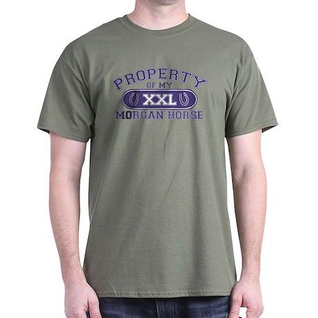 Morgan Horse PROPERTY Dark T-Shirt