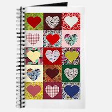 Heart Quilt Pattern Journal