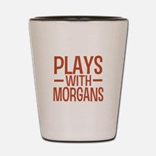 PLAYS Morgans Shot Glass