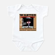 Wanted Joseph Kony Infant Bodysuit
