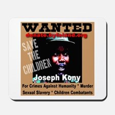 Wanted Joseph Kony Mousepad