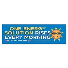 One Energy Solution (Bumper Sticker)