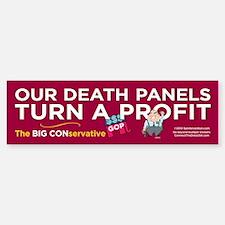 Death Panels Profit (Bumper Sticker)