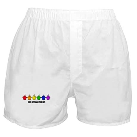Into Chicks Boxer Shorts
