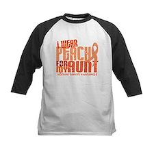 I Wear Peach 6.4 Uterine Cancer Tee