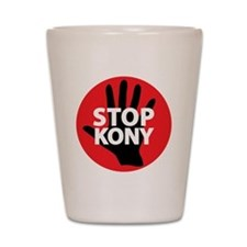 Stop Kony Shot Glass