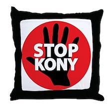 Stop Kony Throw Pillow