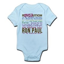 RON PAUL baby & tike Infant Bodysuit