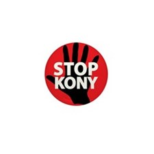 Stop Kony Mini Button