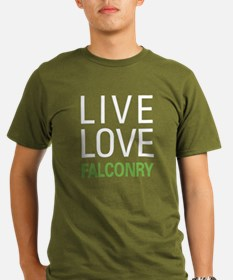 Live Love Falconry T-Shirt