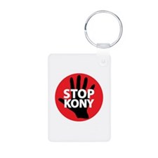 Stop Kony Aluminum Photo Keychain